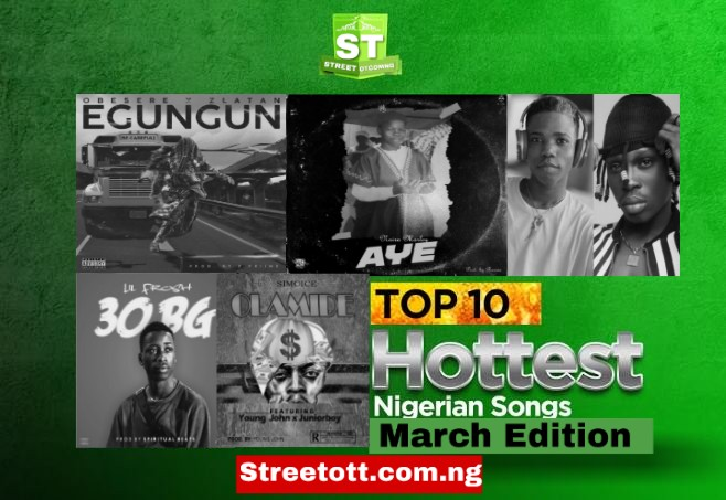 Top 10 Songs That Rocked The Month Of March