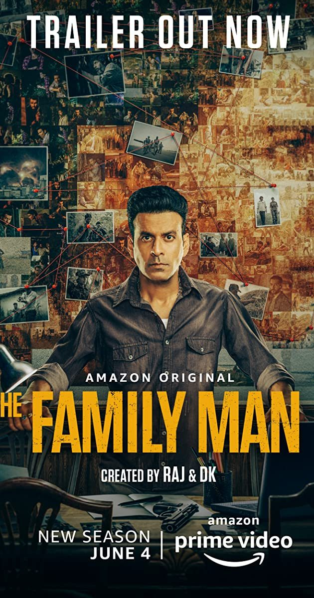The Family Man Season 1 Episode 1 – 10 (Complete) – Bollywood Series